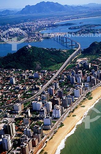 Assunto: Ponte Deputado Darcy Castello de Mendonça  - Conhecida como Terceira Ponte  / Local: Vitória - Espírito Santo (ES) - Brasil / Data: 08/2008