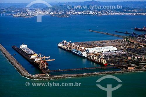Assunto: Porto de Praia Mole - Consórcio CST, Usiminas e Açominas / Local: Vitória - Espírito Santo (ES) - Brasil / Data: 08/2008