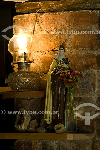 Assunto: Imagem de Santa Terezinha - Colônia italiana / Local: Garibaldi - Rio Grande do Sul (RS) - Brasil / Data: 02/2012