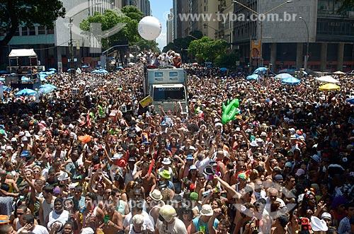 Assunto: Carnaval de rua - Bloco Cordão da Bola Preta / Local: Centro - Rio de Janeiro (RJ) - Brasil / Data: 02/2012