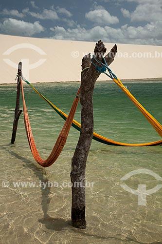 Assunto: Redes na Lagoa do Paraíso / Local: Jijoca de Jericoacoara - Ceará (CE) - Brasil / Data: 11/2011