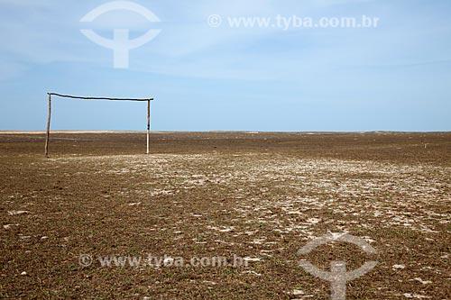 Assunto: Campo de futebol / Local: Jijoca de Jericoacoara - Ceará (CE) - Brasil / Data: 11/2011