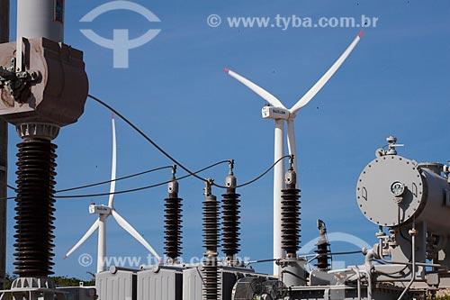 Assunto: Parque Eólico Taíba - Empresa Bons Ventos Geradora de Energia / Local: São Gonçalo do Amarante - Ceará (CE) - Brasil / Data: 10/2011