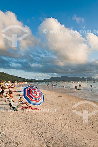 Assunto: Praia de Ponta das Canas / Local: Florianópolis - Santa Catarina (SC) - Brasil / Data: 02/2012