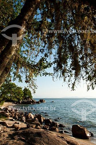 Assunto: Praia na Ponta do Sambaqui, no distrito de Santo Antonio de Lisboa / Local: Florianópolis - Santa Catarina (SC) - Brasil / Data: 03/2012
