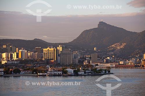 Assunto: Vista da Ilha das Enxadas a partir da Ponte Rio-Niterói / Local: Rio de Janeiro (RJ) - Brasil  / Data: 10/2011