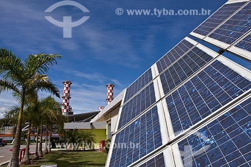 Assunto: Placas Fotovoltaicas na UTE Norte Fluminense  / Local: Macaé - Rio de Janeiro (RJ) - Brasil  / Data: 10/2011