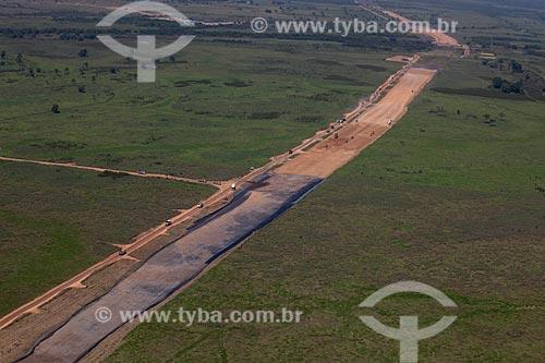 Assunto: Vista aérea da estrada de acesso ao Complexo Petroquímico do Rio de Janeiro  / Local: Itaboraí - Rio de Janeiro (RJ) - Brasil  / Data: 03/2012