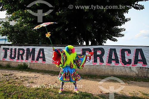 Assunto: Turma da Praça - Grupo de Clovis ou Bate-bola de Marechal Hermes / Local: Marechal Hermes - Rio de Janeiro (RJ) - Brasil / Data: 02/2012