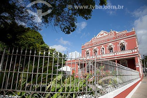 Assunto: Prédio da FOCCA - Faculdade de Olinda / Local: Olinda - Pernambuco (PE) - Brasil / Data: 11/2011