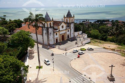 Assunto: Igreja de São Salvador do Mundo (1548) no Largo da Sé - Conhecida como Igreja da Sé  / Local: Olinda - Pernambuco (PE) - Brasil / Data: 11/2011