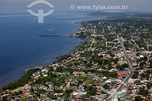 Assunto: Vista aérea da Praia de Mauá - Guia de Pacobaíba / Local: Magé - Rio de Janeiro (RJ) - Brasil  / Data: 03/2012