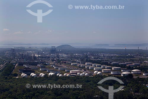 Assunto: Vista aérea da Refinaria Duque de Caxias  / Local: Duque de Caxias - Rio de Janeiro (RJ) - Brasil  / Data: 03/2012