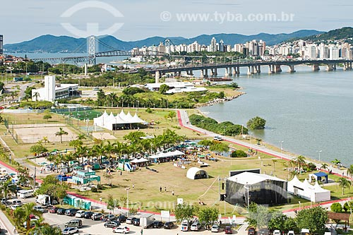 Assunto: Festa dos 286 anos de Florianópolis no Parque de Coqueiros / Local: Florianópolis - Santa Catarina (SC) - Brasil / Data: 03/2012