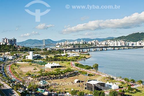 Assunto: Festa dos 286 anos de Florianópolis no Parque de Coqueiros / Local: Florianópolis - Santa Catarina (SC) - Brasil / Data: 23/03/2012