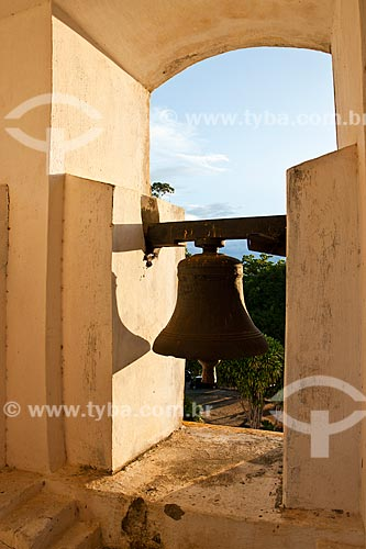 Assunto: Sino da Igreja Nossa Senhora das Necessidades / Local: Distrito de Santo Antonio de Lisboa - Florianópolis - Santa Catarina (SC) - Brasil / Data: 04/2012