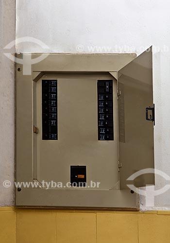 Assunto: Quadro de distribuição de energia / Local: Glória - Rio de Janeiro (RJ) - Brasil / Data: 01/2012