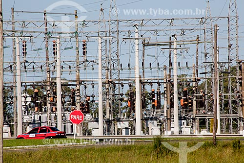 Assunto: Subestação de energia elétrica / Local: Palmares do Sul - Rio Grande do Sul (RS) - Brasil / Data: 02/2012