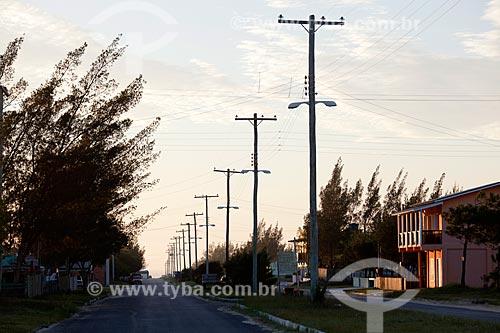 Assunto: Rua do Balneário Mostardense / Local: Mostardas - Rio Grande do Sul (RS) - Brasil / Data: 02/2012