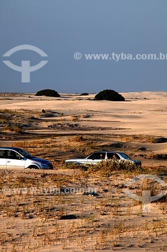 Assunto: Dunas no Parque Nacional da Lagoa do Peixe / Local: Mostardas - Rio Grande do Sul (RS) - Brasil / Data: 02/2012