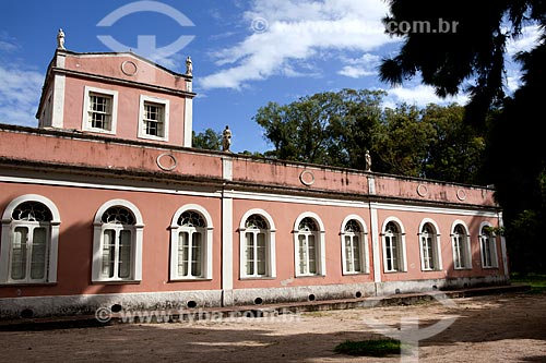 Assunto: Museu da Baronesa - Solar da Baronesa (1863) - Abrigou a família de Aníbal e Amélia Hartley Antunes Maciel / Local: Pelotas - Rio Grande do Sul (RS) - Brasil / Data: 02/2012