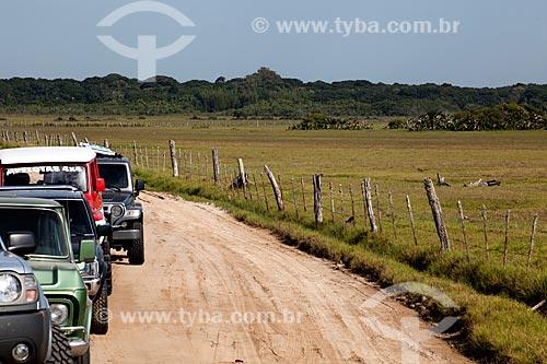 Assunto: Carros na Trilha do Talhamar  / Local: Tavares - Rio Grande do Sul (RS) - Brasil / Data: 02/2012