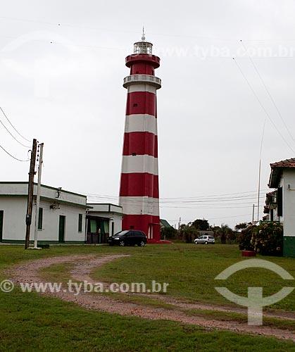 Assunto: Farol da Barra do Chuí - Fronteira Brasil-Uruguai / Local: Santa Vitória do Palmar - Rio Grande do Sul (RS) - Brasil / Data: 02/2012