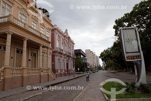 Assunto: Prefeitura e Biblioteca Pública na Praça Coronel Pedro Osório / Local: Pelotas - Rio Grande do Sul (RS) - Brasil / Data: 02/2012