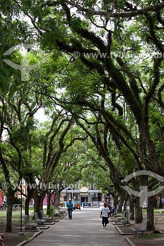 Assunto: Praça Coronel Pedro Osório / Local: Pelotas - Rio Grande do Sul (RS) - Brasil / Data: 02/2012