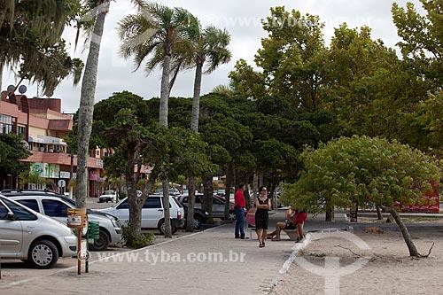 Assunto: Calçadão na Praia do Laranjal - Lagoa dos Patos / Local: Pelotas - Rio Grande do Sul (RS) - Brasil / Data: 02/2012