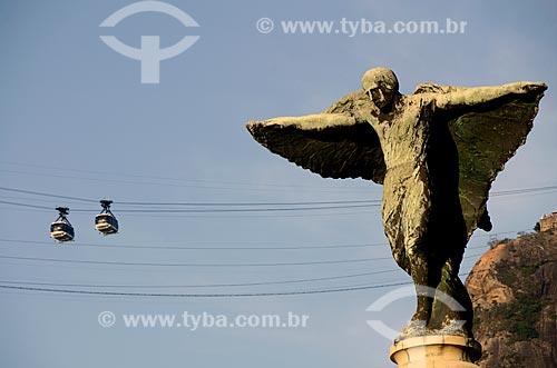 Assunto: Monumento aos Heróis da Batalha de Laguna e Dourados na Praia Vermelha - Guerra do Paraguai  / Local: Urca - Rio de Janeiro (RJ) - Brasil / Data: 10/2011