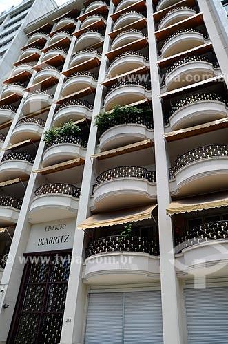 Assunto: Edifício Biarritz - Edifício residencial em estilo Art Déco / Local: Flamengo - Rio de Janeiro (RJ) - Brasil / Data: 01/2012