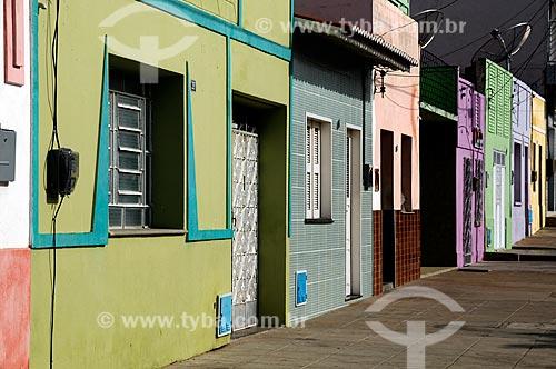 Assunto: Fachada de casarios - Região dos Inhamuns no Sertão do Ceará     / Local: Tauá - Ceará (CE) - Brasil / Data: 04/2011