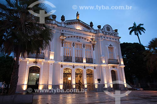 Assunto: Vista do Teatro Alberto Maranhão no centro histórico da cidade / Local: Natal - Rio Grande do Norte (RN) - Brasil / Data: 03/2012