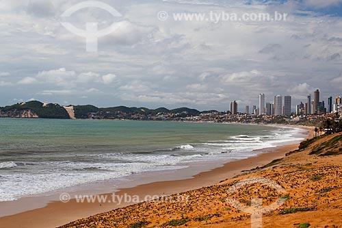 Assunto: Praia Barreira Dágua com praia de Ponta Negra ao fundo / Local: Natal - Rio Grande do Norte (RN) - Brasil / Data: 03/2012
