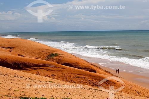Assunto: Turistas na Praia Barreira Dágua / Local: Natal - Rio Grande do Norte (RN) - Brasil / Data: 03/2012