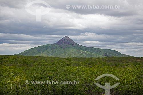 Assunto: Pico Cabugi no sertão potiguar / Local: Angicos - Rio Grande do Norte (RN) - Brasil / Data: 03/2012