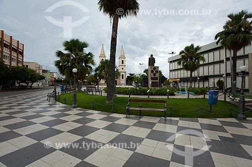 Assunto: Praça Vigário Antônio Joaquim / Local: Mossoró - Rio Grande do Norte (RN) - Brasil / Data: 03/2012