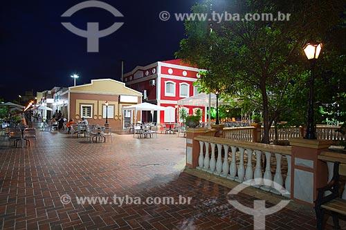 Assunto: Bares e restaurantes na Praça da Convivência / Local: Mossoró - Rio Grande do Norte (RN) - Brasil / Data: 03/2012