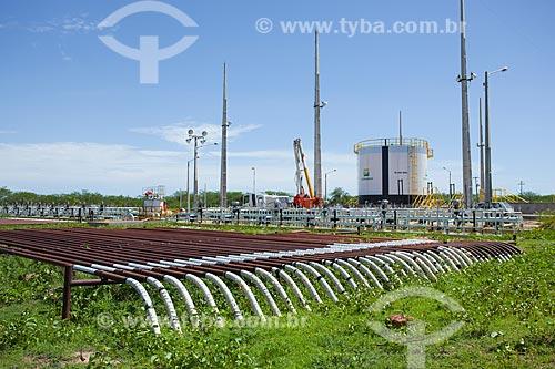Assunto: Dutos de transporte de petróleo entre o poço e a estação coletora de petróleo de Canto do Amaro  / Local: Mossoró - Rio Grande do Norte (RN) - Brasil / Data: 03/2012