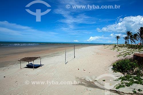 Assunto: Praia na Ponta do Mel  / Local: Areia Branca - Rio Grande do Norte (RN) - Brasil / Data: 03/2012