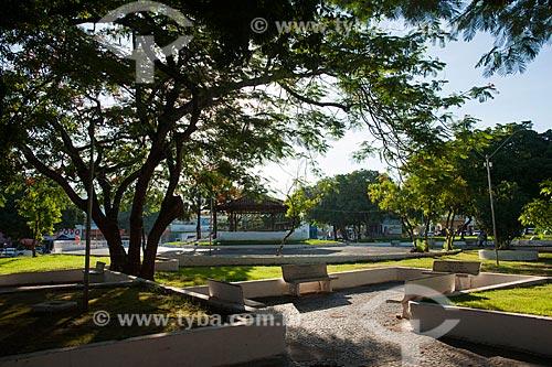 Assunto: Vista da Praça dos Carreiros / Local: Rondonópolis - Mato Grosso (MT) - Brasil / Data: 12/2011