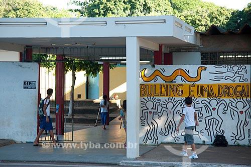 Assunto: Saída de escola na cidade de Rondonópolis / Local: Rondonópolis - Mato Grosso (MT) - Brasil / Data: 12/2011