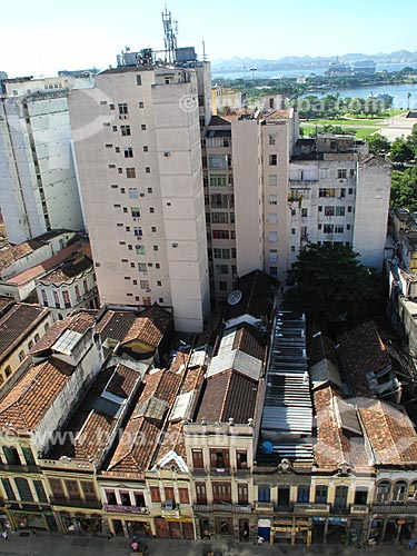 Assunto: Casario antigo e prédios da Rua da Lapa / Local: Lapa - Rio de Janeiro (RJ) - Brasil / Data: 05/2012