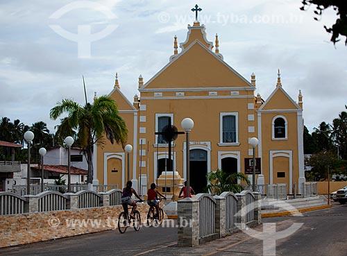 Assunto: Igreja Bom Jesus dos Navegantes / Local: Touros - Rio Grande do Norte (RN) - Brasil / Data: 03/2012