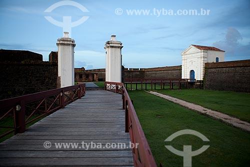 Assunto: Entrada da Fortaleza de São José de Macapá (1782)Data: 04 / Local: Macapá - Amapá (AP) - Brasil / Data: 04/2012