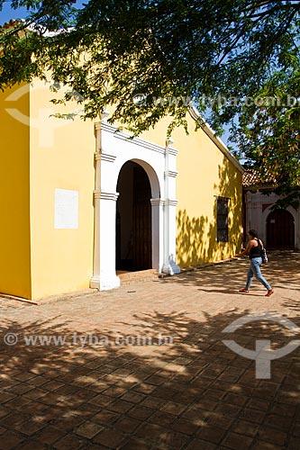 Assunto: Igreja de São Clemente (Iglesia de San Clemente) - O centro histórico onde está localizado a igreja foi declarado patrimônio cultural da humanidade  / Local: Coro - Falcón - Venezuela - América do Sul / Data: 05/2012