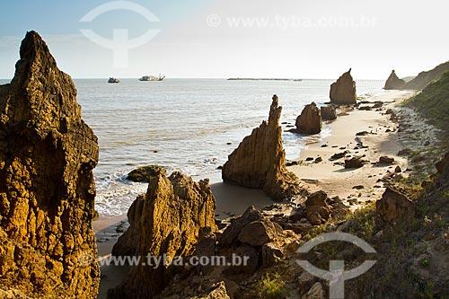 Assunto: Praia Las Piedras de Martin (Playa Las Piedras de Martin) / Local: La Vela de Coro - Falcón - Venezuela - América do Sul / Data: 05/2012