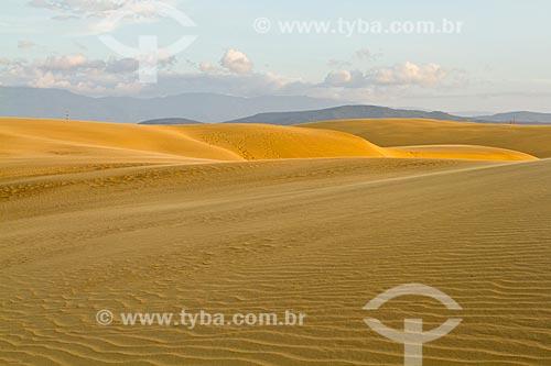 Assunto: Dunas do Parque Nacional Médanos de Coro / Local: Coro - Falcón - Venezuela - América do Sul / Data: 05/2012