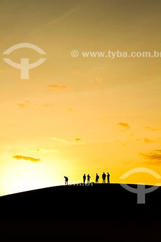 Assunto: Turistas nas dunas do Parque Nacional Médanos de Coro / Local: Coro - Falcón - Venezuela - América do Sul / Data: 05/2012